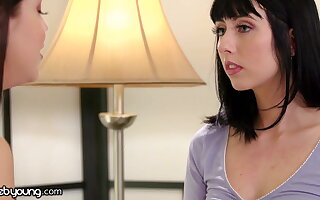 Alina Lopez's Acting Practice Turns Into A Scissoring Moment