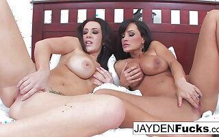 Jayden And Lisa Ann Bed Buddies