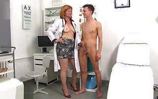 Sperm Hospital - Dirty Mature Slut Nurse Stefania
