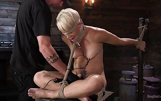 Helena Locke endures extreme torture with a lot of spanking