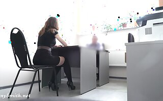 Naked at real job interview