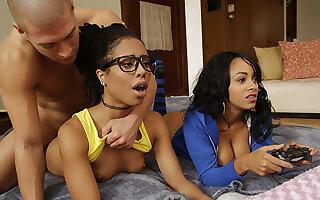 Ebony Three Player Game