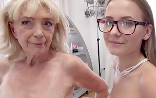 Teen Tart + 68YO GILF: Sick Anal 3-Way