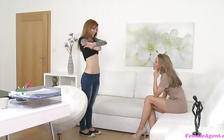 Girl beyond everything girl sex action between Foxy Sanie coupled with Whitney Conroy