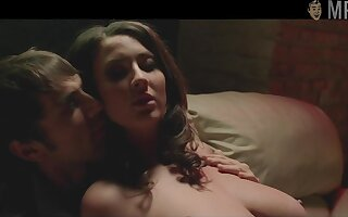 Jessica Paré naked scenes compilation video