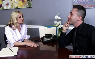 Sarah Vandella - Dejected Office