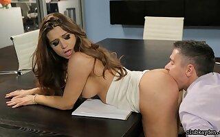 Wall street bang - hot office sexual intercourse