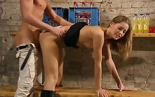 Anja super hot blonde babe hardcore
