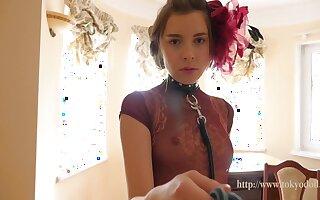 Kate Chromia - For detail Cute Slim Teen Girl Lana At Home