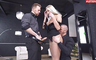 DP stimulates Angelika Grays in ways she never imagined