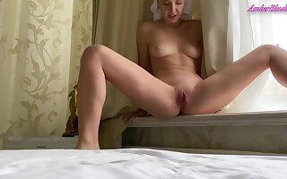 Elf-like Bitch Fingers Her Fortunate Vagina On Camera