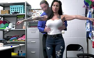 Tattooed MILF Lily Lane gets fucked fixed in chum around with annoy office. HD vide